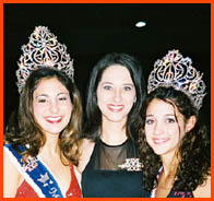 The 2002 Miss Andouille presents the 2003 Miss Andouille and Miss Teen Andouille